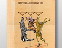 Afiches para congreso sobre comercio animal