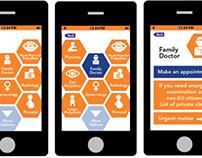 Previsit information App for Hospital (student project)