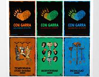 Afiches para organización protectora de animales