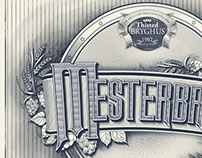 Beerlabel design for Thisted Brewery