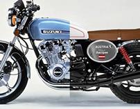 SUZUKI GS1000 Scrambler Concept