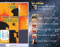 Blah - The EPIC Jumble Face-Off! Facebook Application