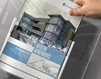 Modern Apartaments Indesign Template Brochure A4