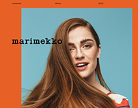 Marimekko Spring 2014 lookbook