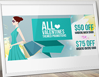 Web banners for an online cloth store!