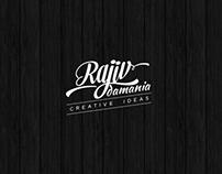 RajivDamania logo design