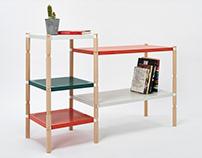 Leg-O shelf