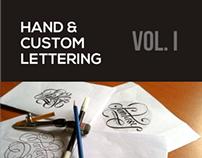Hand & Custom Lettering Vol.1