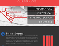 Design Engineering Services Website