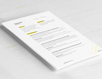 Libra  - Resume Template