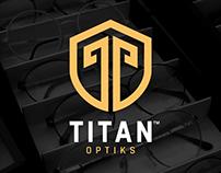 Titan Optiks - Brand Identity Design