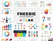 Freebies - Infographics, Slides, Mockups, Maps