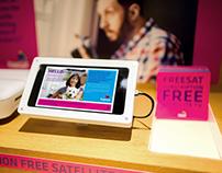 Freesat POS app