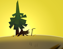 Animation Doodle: The Lonely Tree