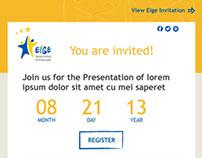 EIGE's Responsive HTML Invitations