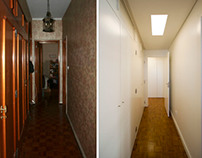 Apartment Refurbishment in Lisbon: before/after