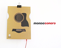 Mondosonoro Music Poster / Concept