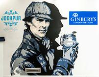 "MURAL ""Sherlock, Benedict Cumberbatch"""