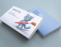 Branding Design for Blue Cat Arts