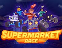 Videojuego Supermarket Race