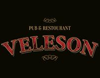 Veleson pub poster
