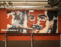 "MURAL ""Groucho Marx"""