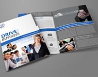 Company Brochure Bi-Fold Template Vol.23
