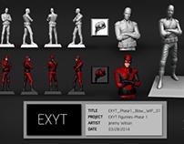 EXYT 3D Figurines