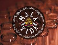 Mala Vida Rock Bar Branding