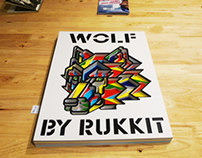 "WOLF for ""Here is ZINE"" 7 & 8 Bangkok-Tokyo Exhibition"