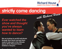 Strictly Come Dancing Charity Event for Richard House