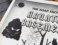 Haunted Basement newspaper
