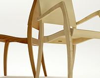 Grasshopper2 stackable chairs
