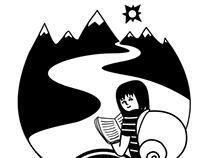 Snail girl / Niña caracol