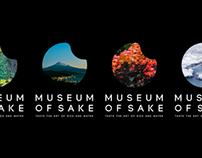 Museum of Sake / identity & website