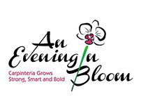 "Logo Design for Fundraiser ""An Evening in Bloom"""