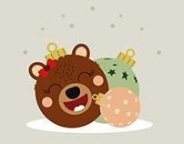 Noël : Les petites boules sauvages