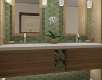 Bathroom Vanity Renderings