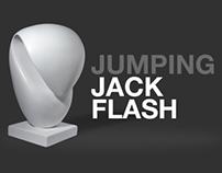 "Sculptural Experiment ""Jumping Jack Flash"""