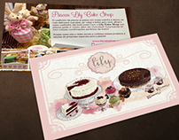 Lily Cake Shop Folder&Illustration