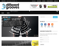 Different Grooves Web Magazine