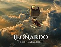 Leonardo - Flying machine