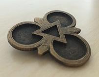King Lear: 3D Printed Emblems