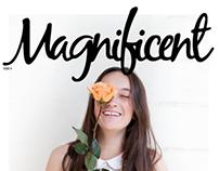 Magnificent Magazine Cover