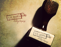E.M. Banks Trading Company Identity + Collateral