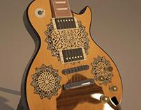 Gibson LesPaul- Oud Style