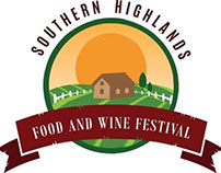 Southern Highlands Food & Wine Festival Logo Design