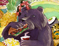 'Hungry as a Bear'