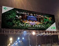 RIMBA Billboard Branding