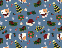 Cat Holiday Patterns